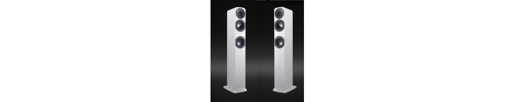 Floorstanding HiFi loudspeakers at eden audio